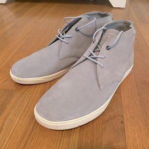 Men's Clae Strayhorn Concrete Suede Shoes